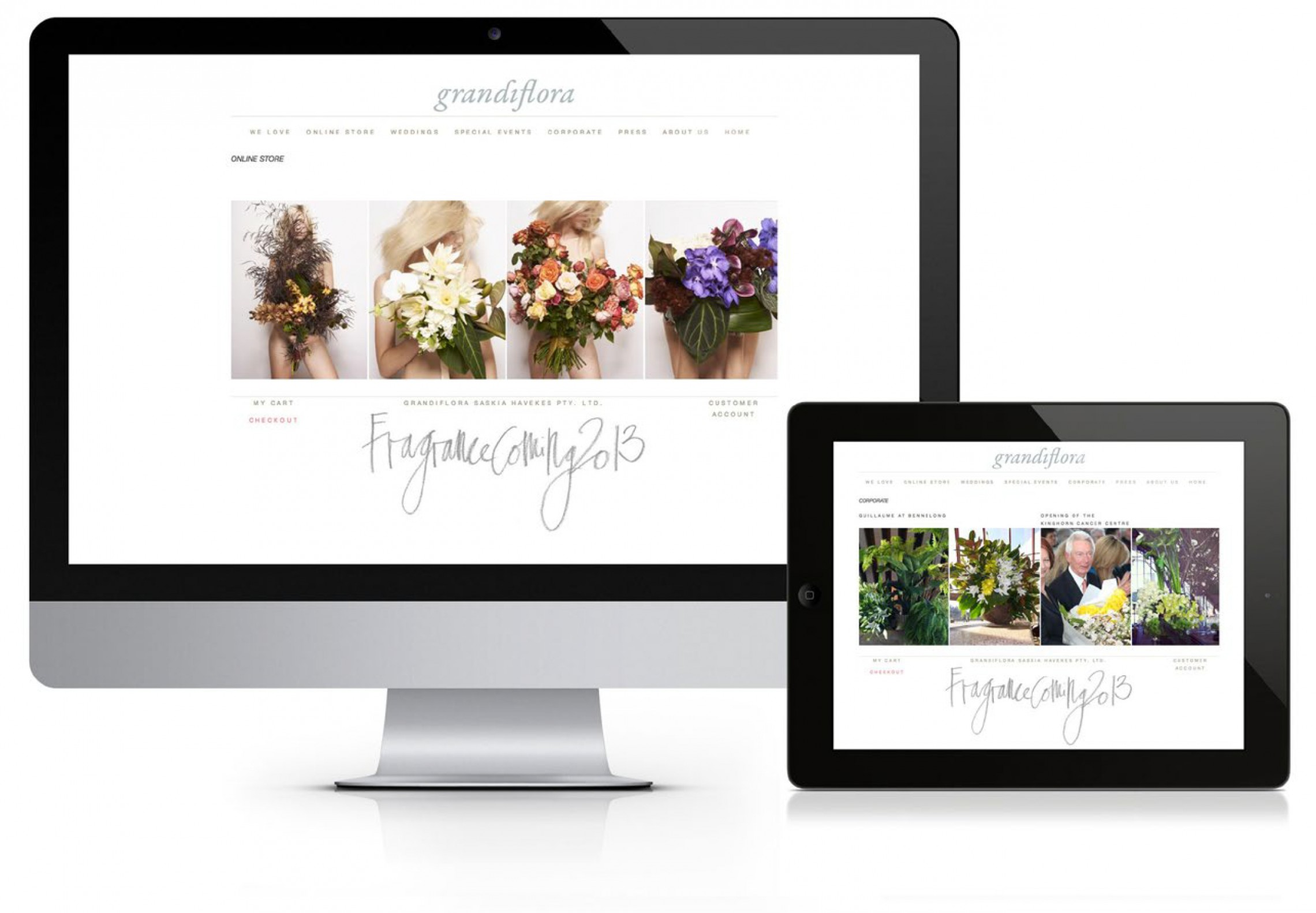 Grandiflora Website